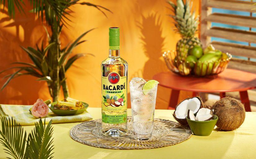 BACARDI Tropical Flavored Rum & Soda