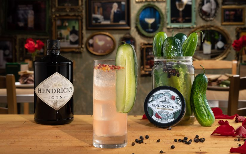 Hendrick's Pickled in Pink